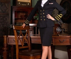 Capt becky perry alluring..